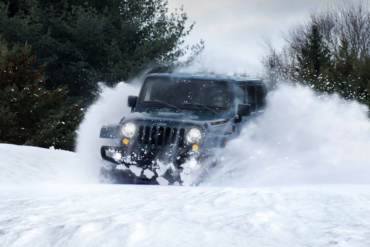 Jeep Wrangler Unlimited four wheel drive