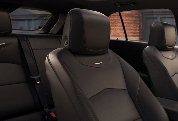 Interior seating in the new XT4