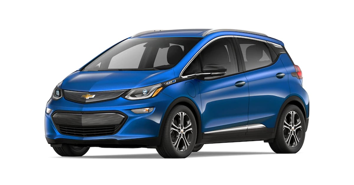 2019 Chevy Bolt Kinetic Blue