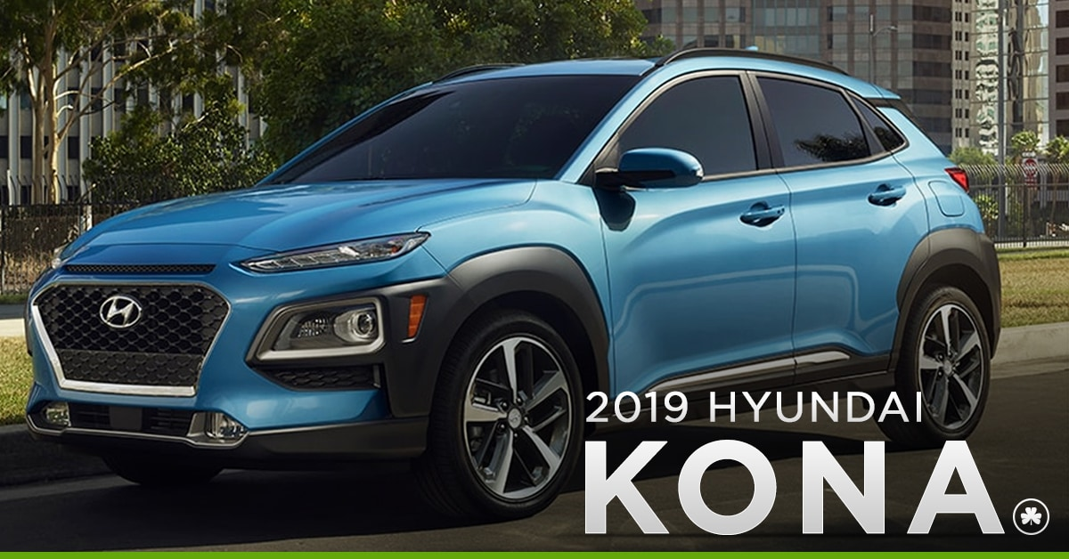 2019 Hyundai Kona Parked in the City
