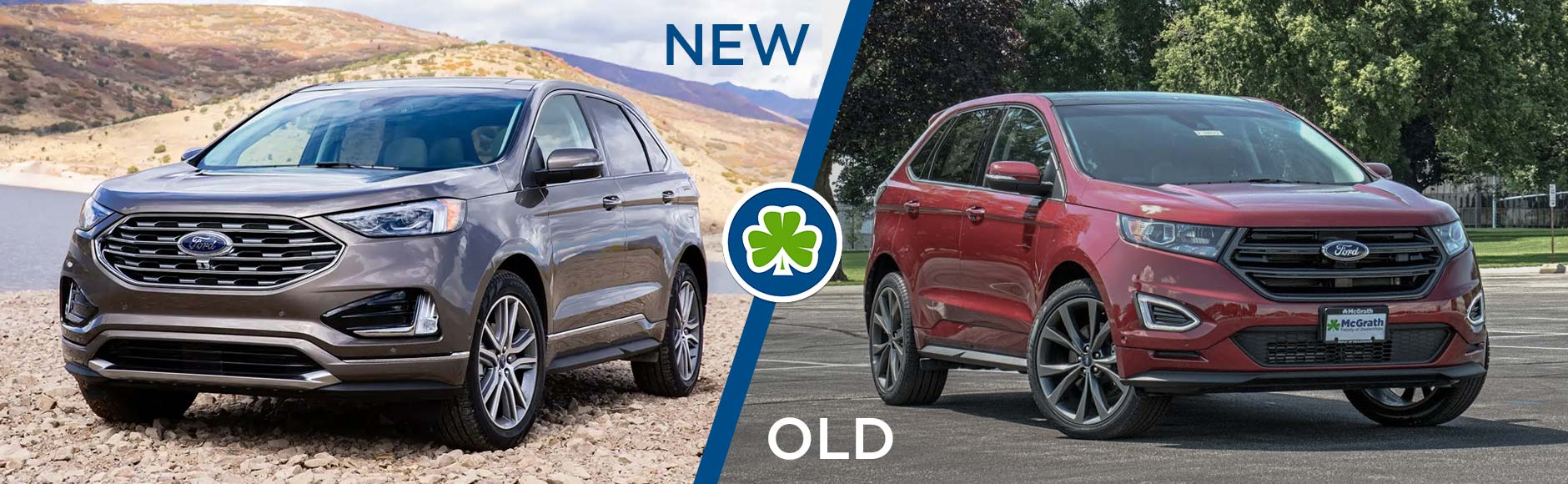 Ford Edge comparison with 2018
