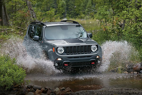 Jeep Renegade Exterior features