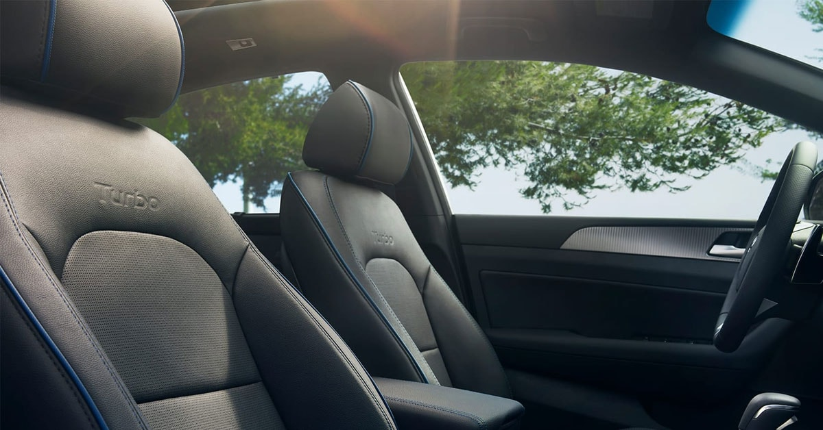 2019 Hyundai Sonata Turbo Interior Seating