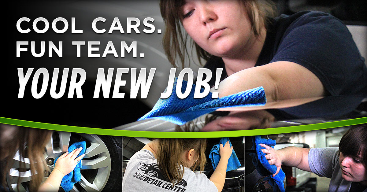 Auto Detailers Wanted in Cedar Rapids