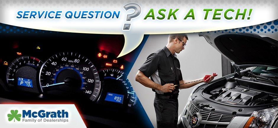 McGrath Service FAQ, Ask a Tech your service questions!
