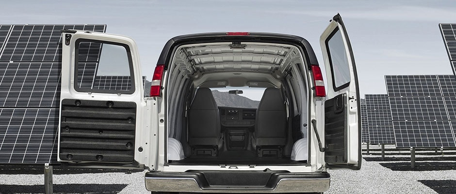 Chevy Express Cargo Room