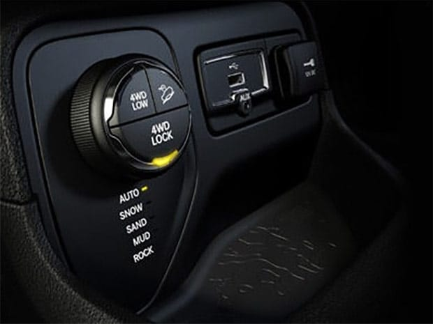 Jeep Renegade Latitude Interior dash