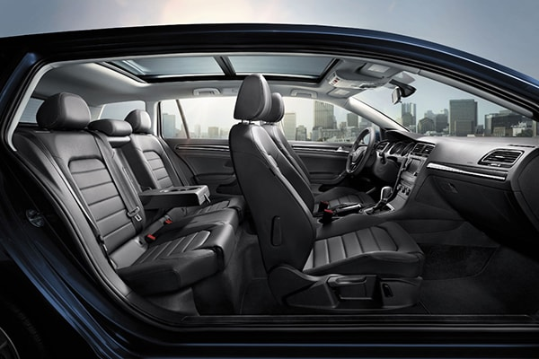 Volkswagen Golf SportWagen Interior Seating