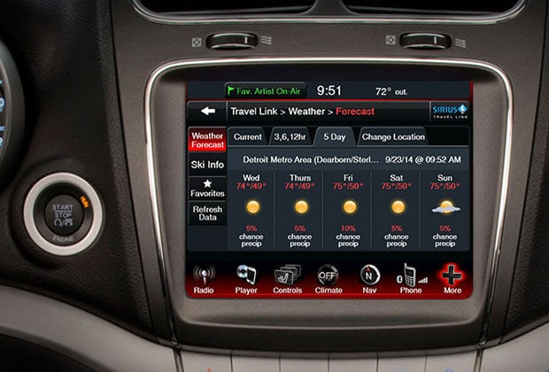 Dodge Journey Uconnect Features