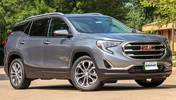 2019 GMC Terrain Exterior Features
