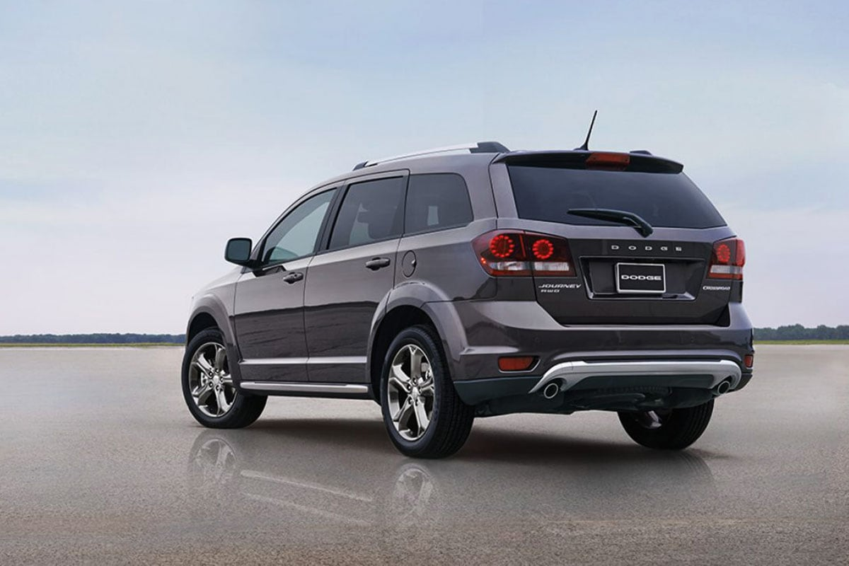 Dodge Journey Exterior features