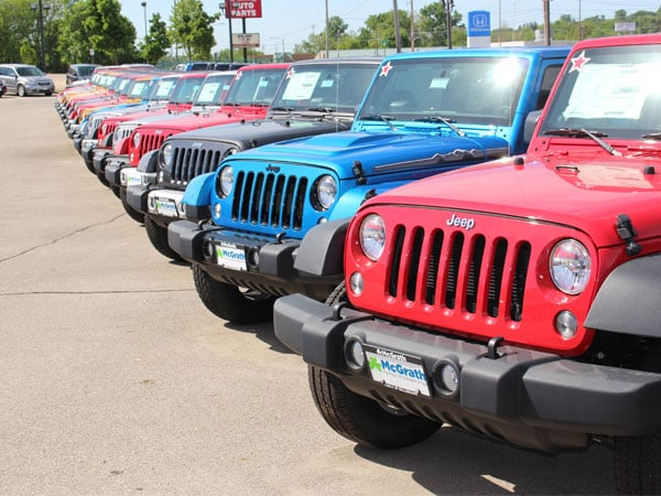 Jeeps for sale in Iowa