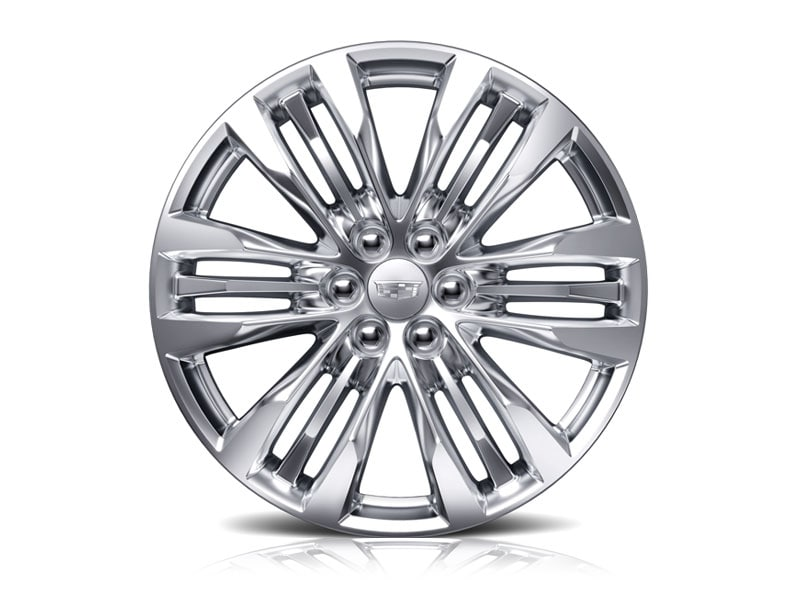 20-inch Aluminum with Sterling Silver Painted Finish - Standard on XT5 Premium Luxury
