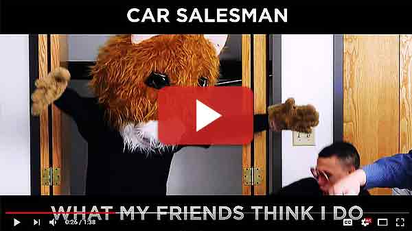 What They THINK Car Salesmen Do