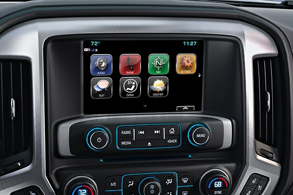 Sierra 3500HD IntelliLink Infotainment System