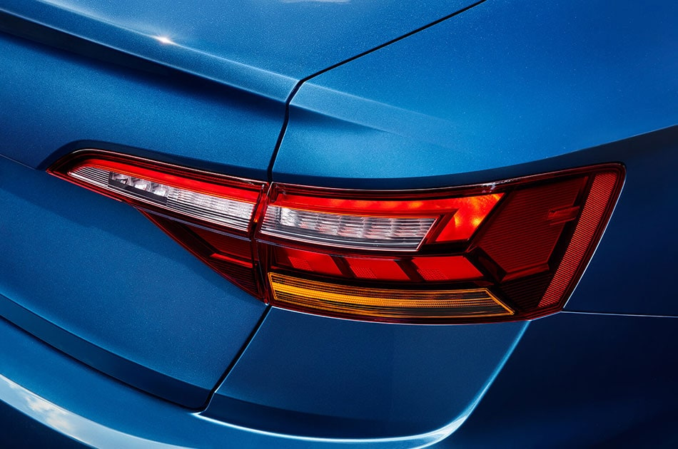2019 Blue VW Jetta Tail Lights