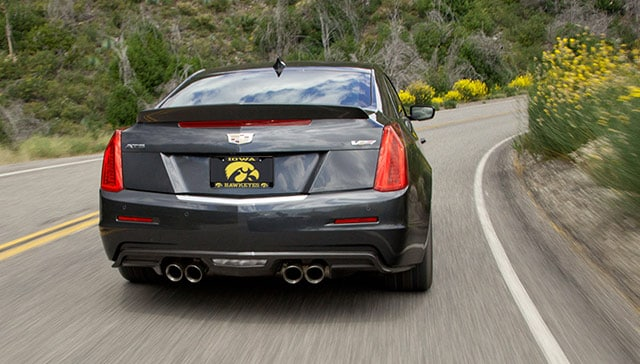 Gray Cadillac CT6 Back Angle