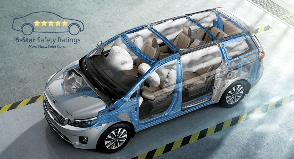 Kia Sedona Air bag Safety