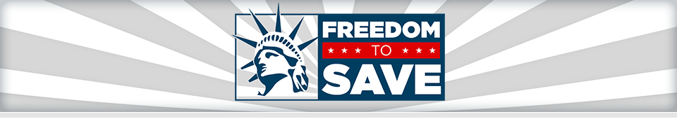 Freedom to save