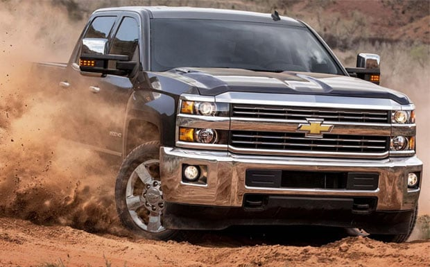 Silverado 2500HD off road