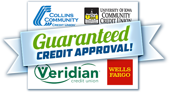 McGrath Auto works with over 35 different credit venders!