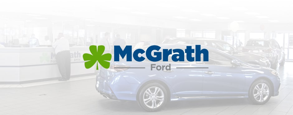 Mcgrath Ford showroom floor