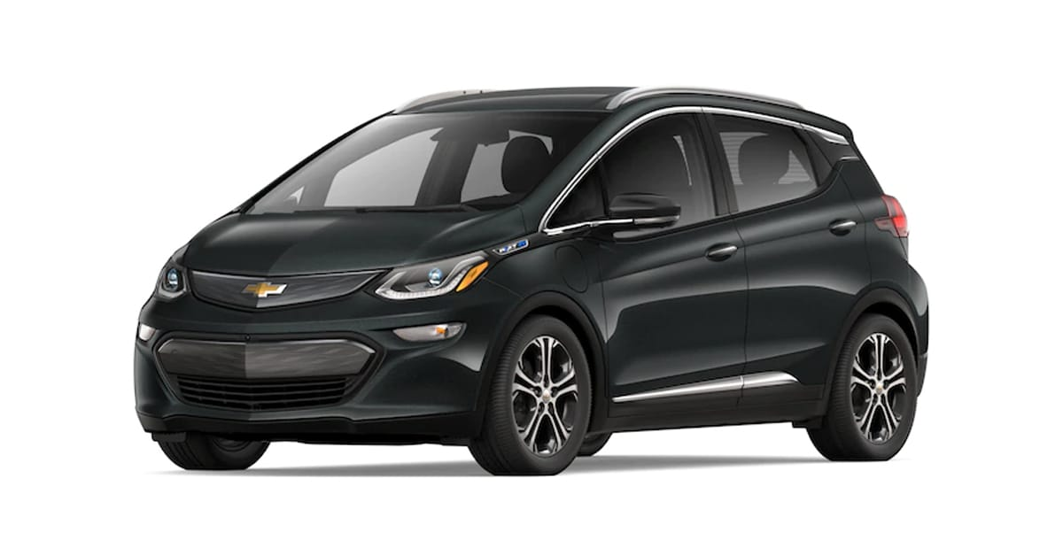 2019 Chevy Bolt Nightfall Gray