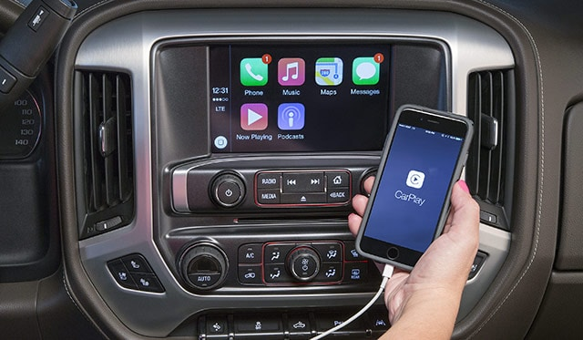 GMC Yukon CarPlay