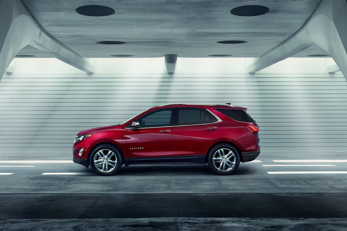 The newly designed 2018 Chevy Equinox is the perfect midsized SUV