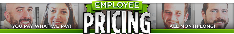 McGrath Employee Pricing