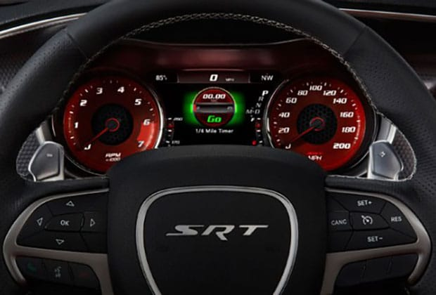 Dodge Challenger Digital Cluster