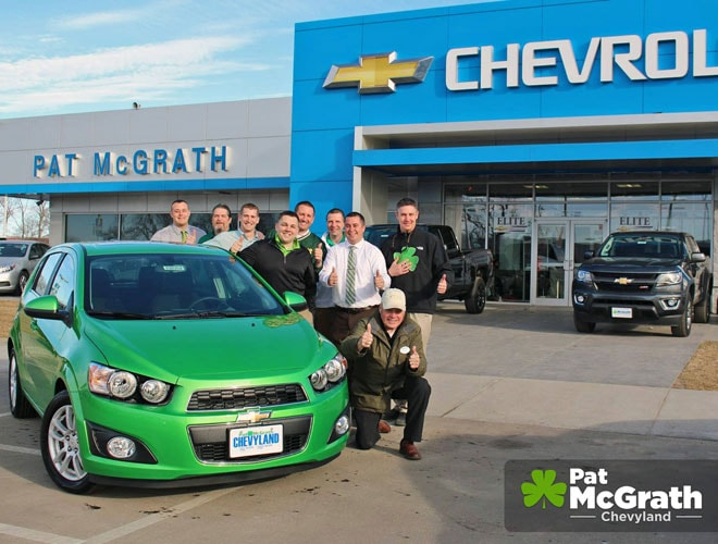 Pat McGrath Chevyland Sales Team