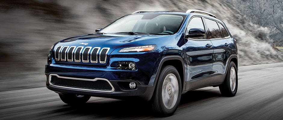 2016 Jeep Cherokee Exterior Features