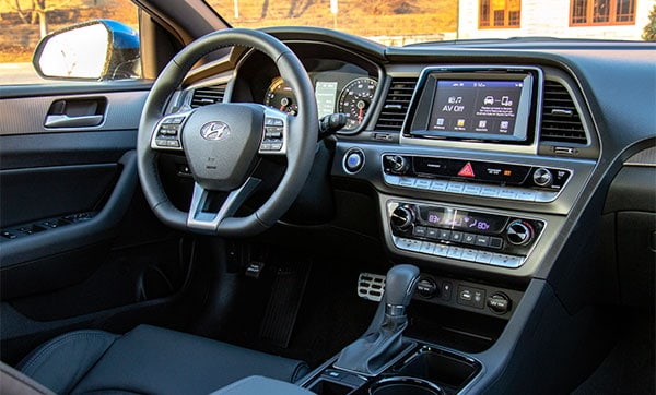 2019 Hyundai Sonata Interior Infotainment Center