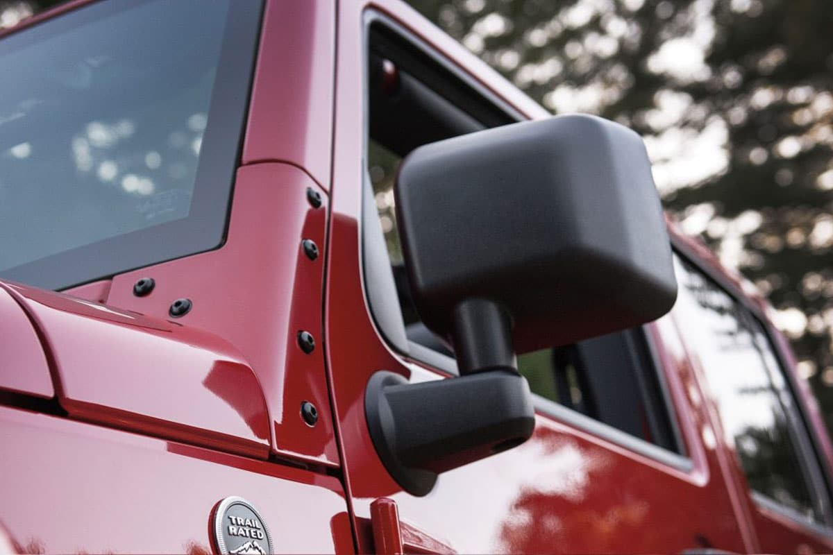 Jeep Wrangler Unlimited Exterior Features