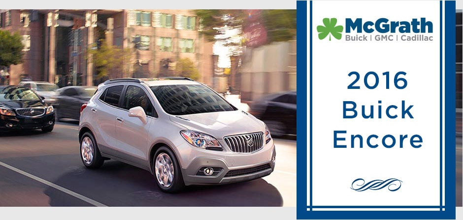 2016 Buick Encore in Cedar Rapids IA | McGrath Buick GMC Cadillac ...