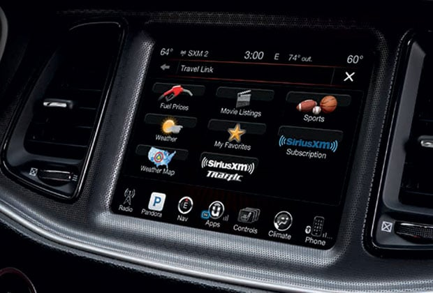 Dodge Challenger Touch-screen Uconnect