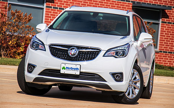 2019 White Buick Envision Exterior