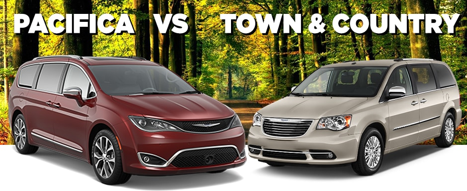 Chrysler Town And Country 2017 >> 2017 Chrysler Pacifica Vs 2016 Chrysler Town Country Mcgrath