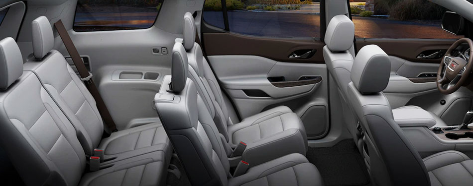 2019 GMC Acadia Interior Seating
