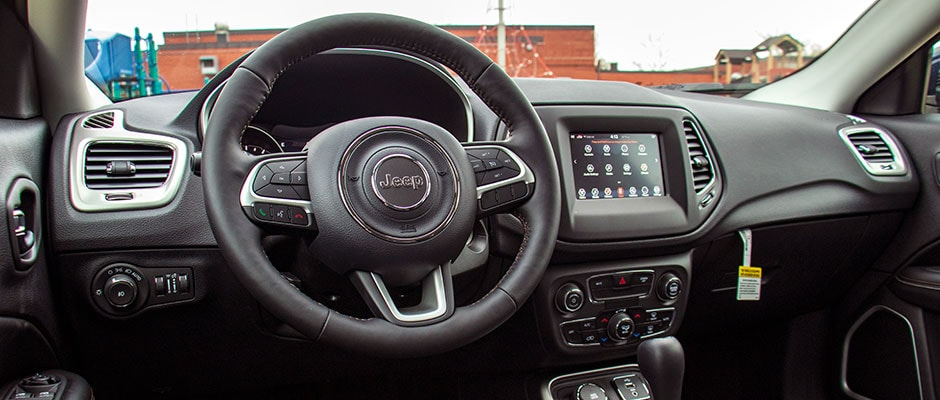 Inside the all new 2019 Jeep Compass