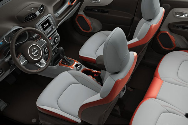Jeep Renegade Interior seating