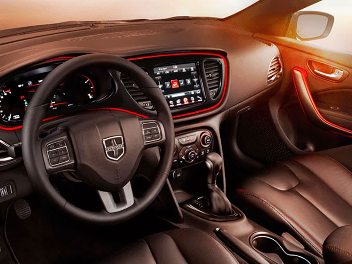 Dodge Dart Interior Technology