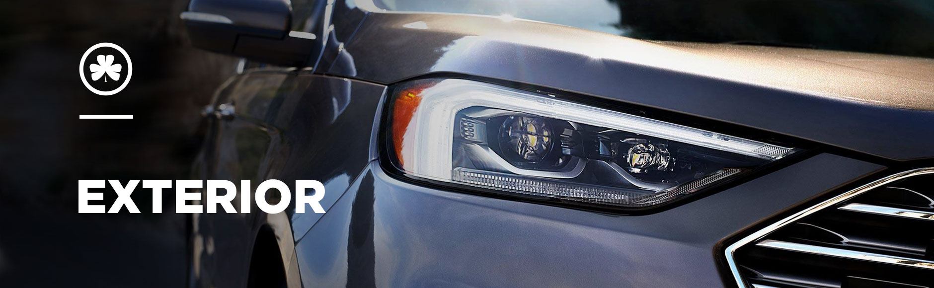 Ford Edge Exterior banner - front headlight