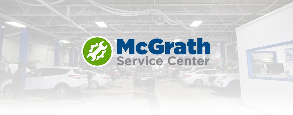 Our Mcgrath Ford Service Center facility