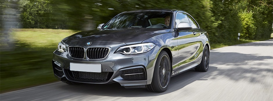 Gray 2018 BMW m240i Coupe