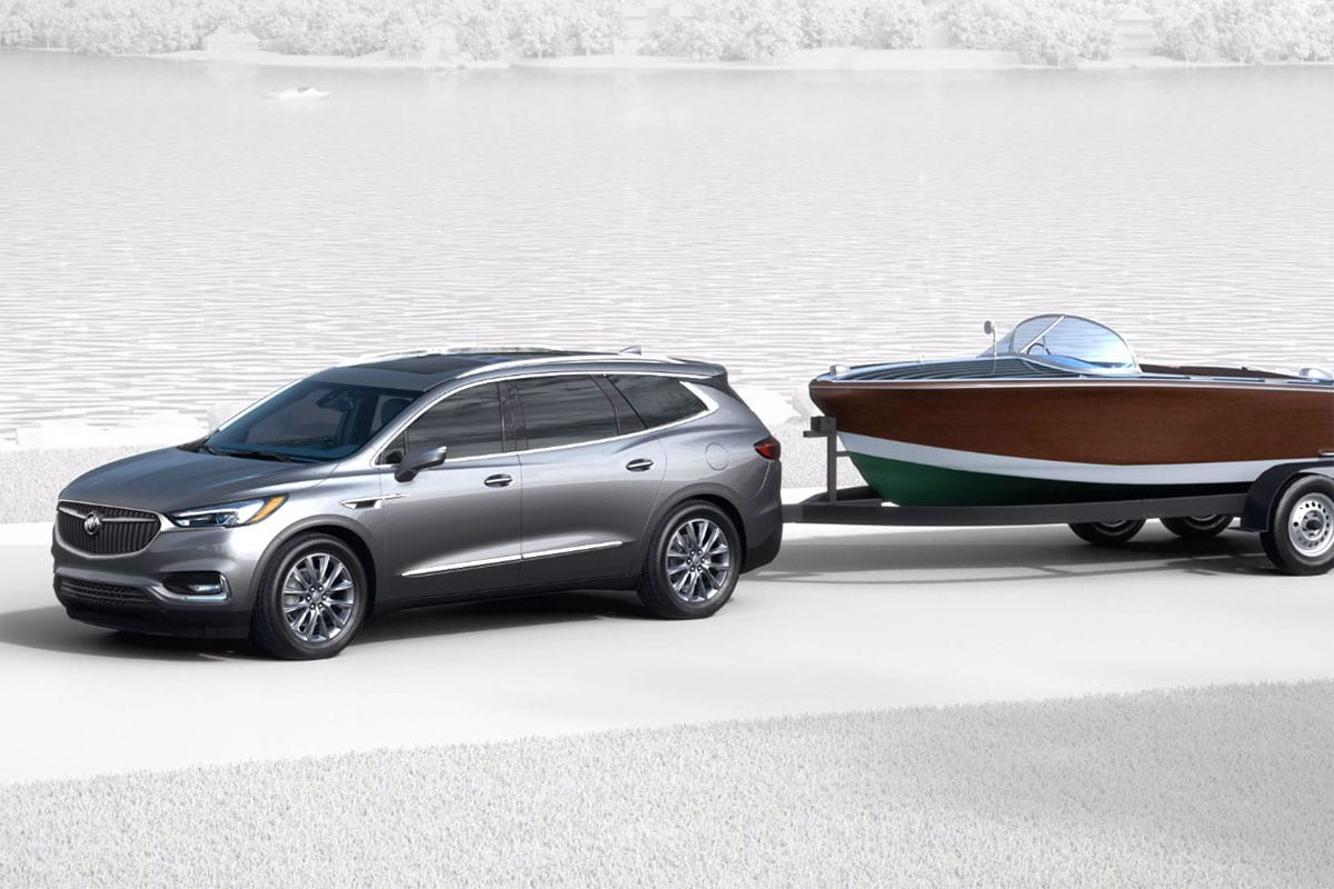 2018 Buick Enclave towing capability