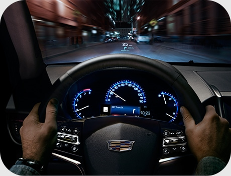 Cadillac ATS Cluster Display