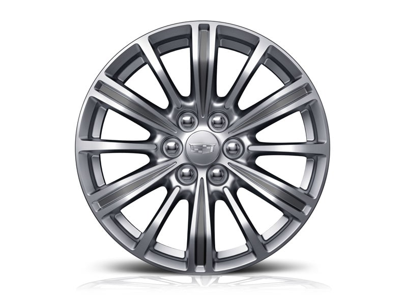 18-inch Aluminum with Blade Silver Painted Finish - Standard on XT5