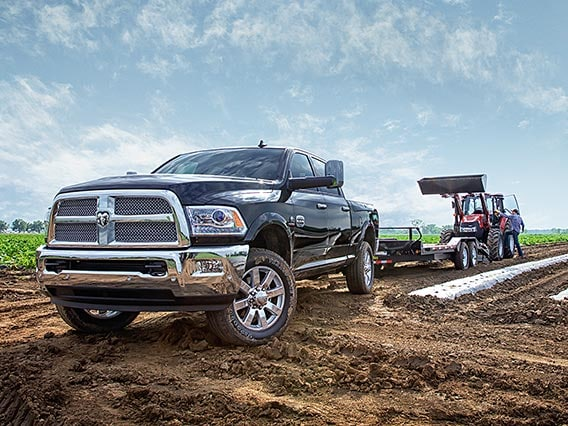 Ram Heavy Duty on farm field
